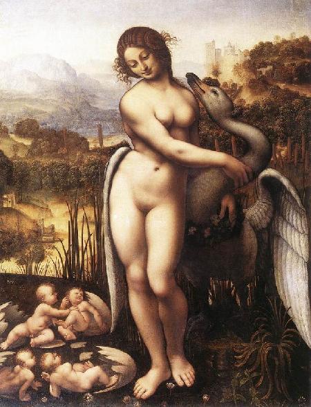 Mối tình giữa Zeus và nàng Leda