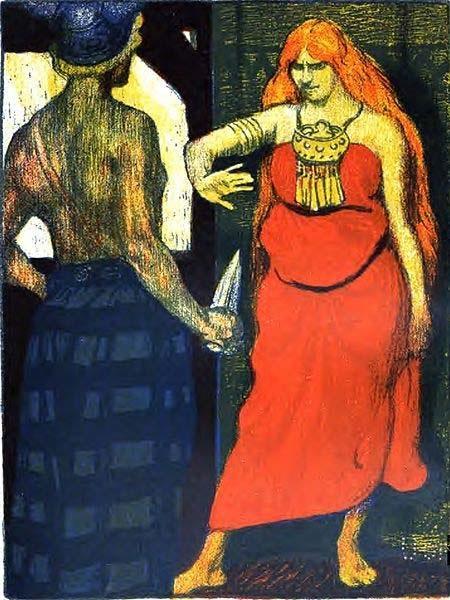 Câu chuyện tình giữa thần Freyr và nàng khổng lồ Gerd