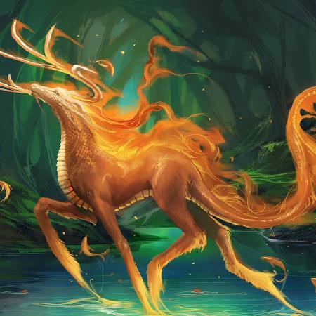 Sinh vật huyền bí và mạnh mẽ - kỳ lân Kirin