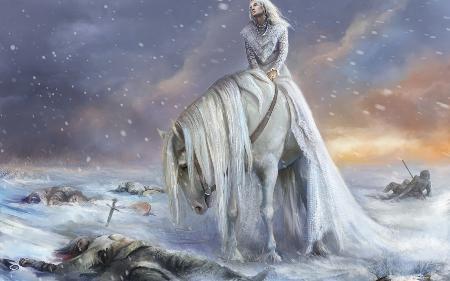 Nữ thần của mùa đông Morana
