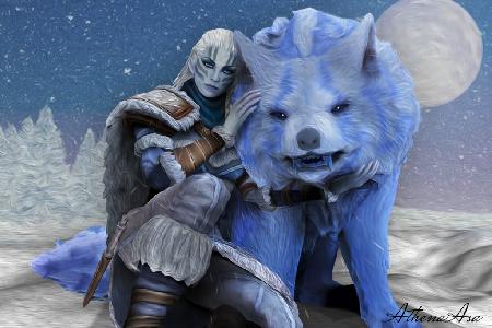 Nữ thần mùa đông Skadi