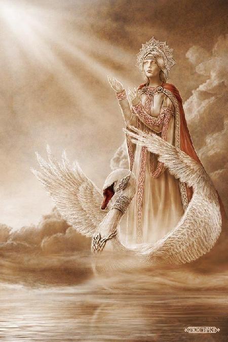 Nữ thần tình yêu và sắc đẹp Lada