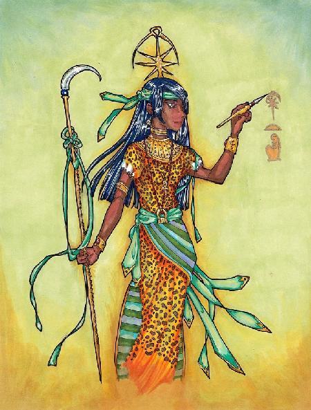 Seshat - nữ thần của trí tuệ