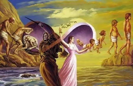 Tình ân ái là gốc của sự sanh tử