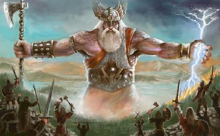 Vị thần chúa tể Slavic - Perun