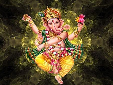 Vị thần đầu voi Ganesha
