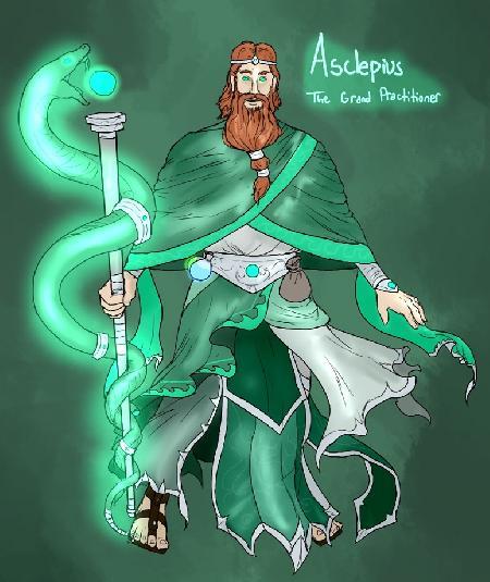 Vị thần y học Asclepius