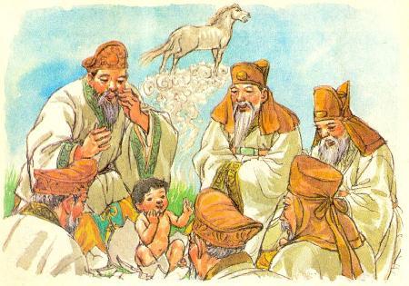Truyền thuyết Bak Hyeokgeose lập quốc Silla (Tân La)