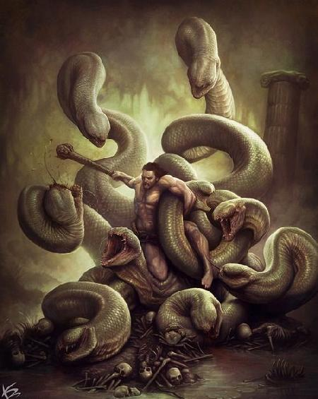 Con quái vật Hydra