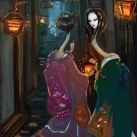 Ma cổ dài Rokurokkubi