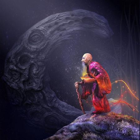 Nguyệt Lão và dây tơ hồng