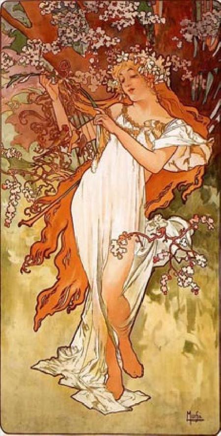 Nữ thần mùa xuân Vesna