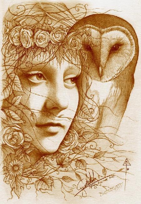 Nữ thần hoa Blodeuwwed