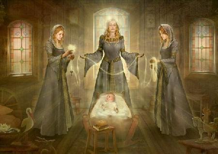 Bộ ba nữ thần số mệnh Suditse