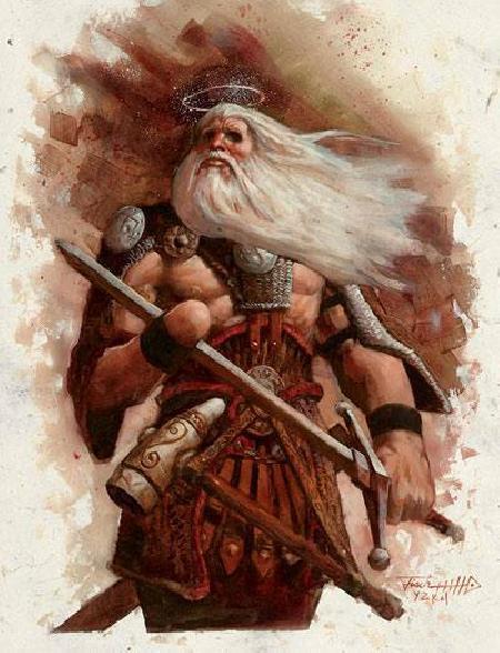 Thần chiến tranh chính nghĩa Tyr