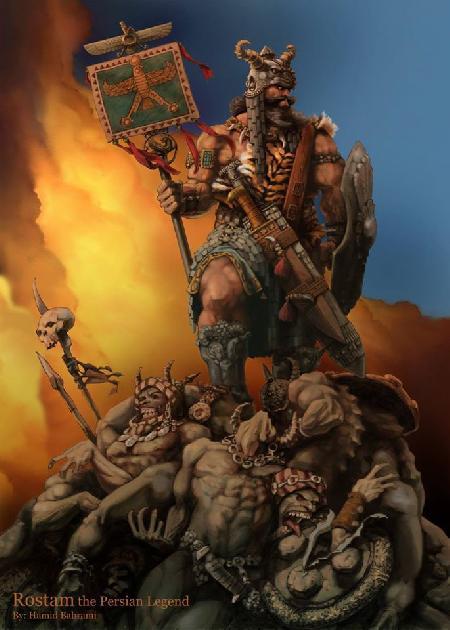 7 chiến công của Rostam