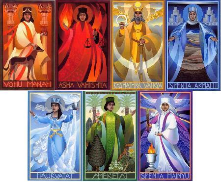 Sáu vị thánh bất tử Amesa Spenta