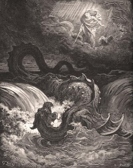 Cuộc chiến giữa thần bão tố Ba'al và thần đại dương Yam