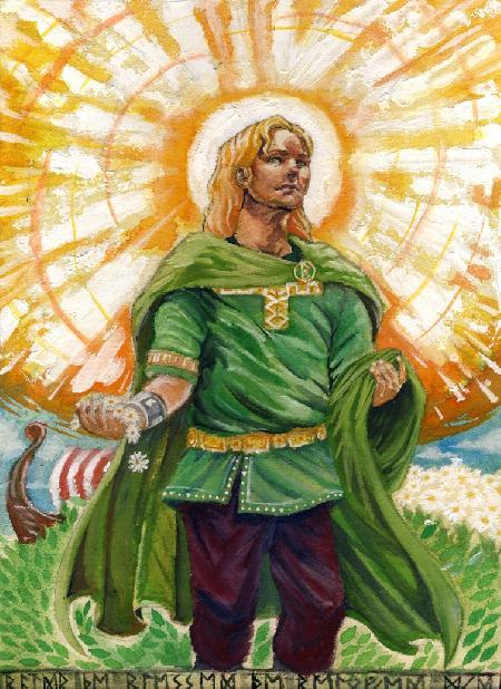 Baldur - vị thần được mọi người yêu quý
