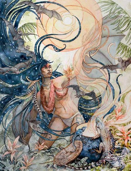 Evaki - nữ thần bóng tối