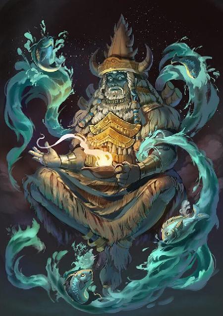 Enki – Thủy thần Lưỡng Hà tự có bầu với chính mình