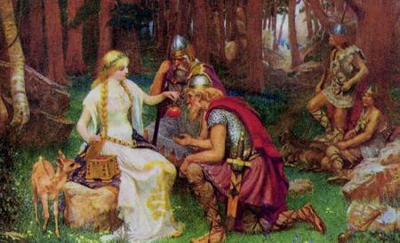 Nữ thần Idunn và những quả táo tuổi trẻ