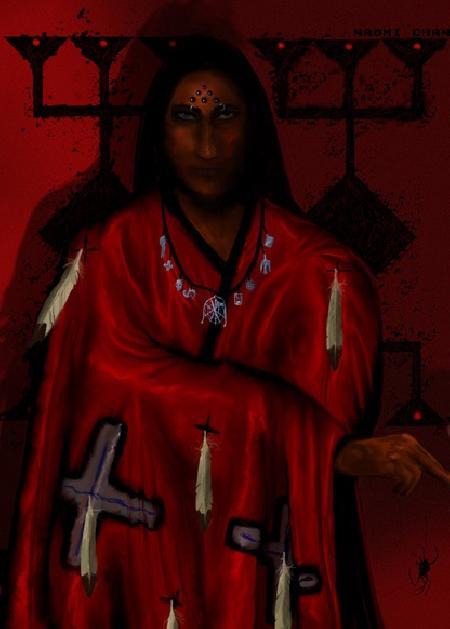 Thần lừa gạt Iktomi trong thần thoại của người da đỏ Lakota