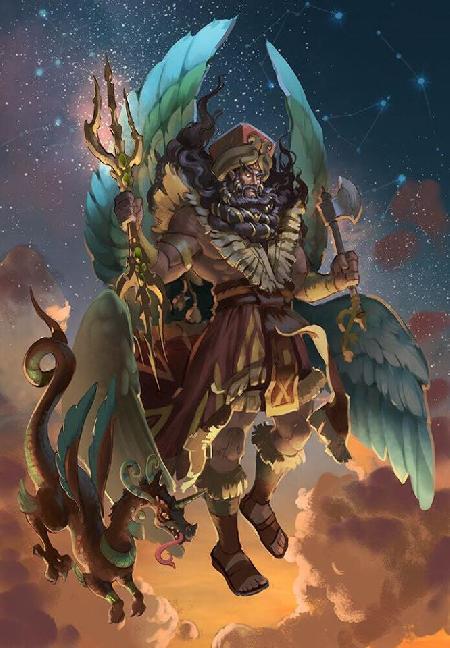 Cuồng phong sát long thần Marduk - vị thần bão tố hùng mạnh