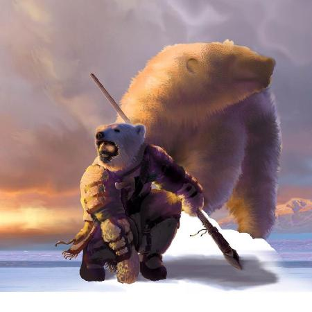 Nanook - Vị thần gấu bắc cực của người Inuit
