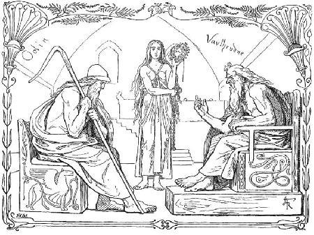 Màn đấu trí giữa Odin và Vafthrudnir