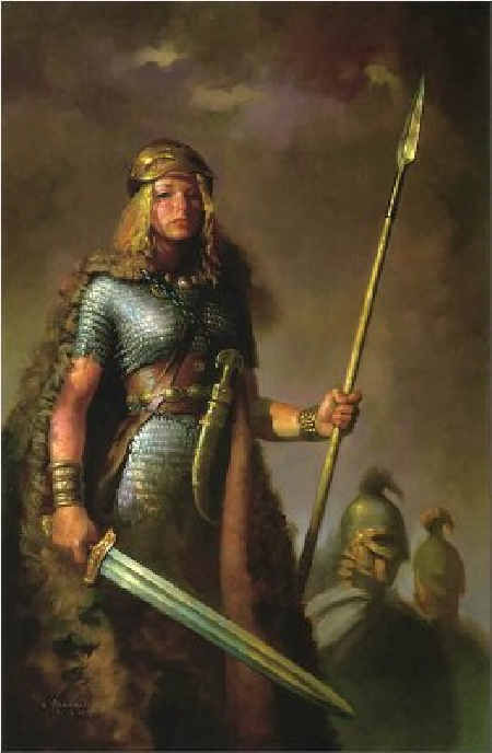 Nữ chiến binh Thorberg trong thần thoại Bắc Âu
