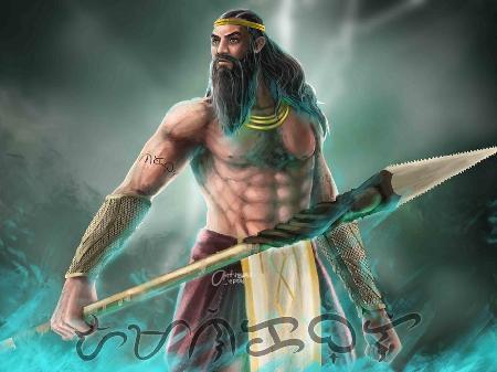 Vị thần của săn bắn và biển cả Amanikable