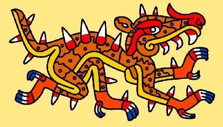 Con cá sấu Cipactli