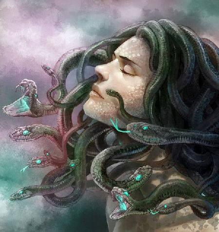 Chị em nữ thần tóc rắn Gorgons