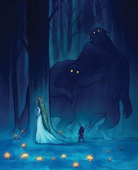 Chín đứa con quái vật của nữ hoàng Fairy Ana - Nguồn gốc các loại bệnh tật