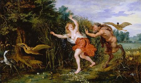 Truyện tình buồn của thần Pan và nàng Nymph Syrinx xinh đẹp