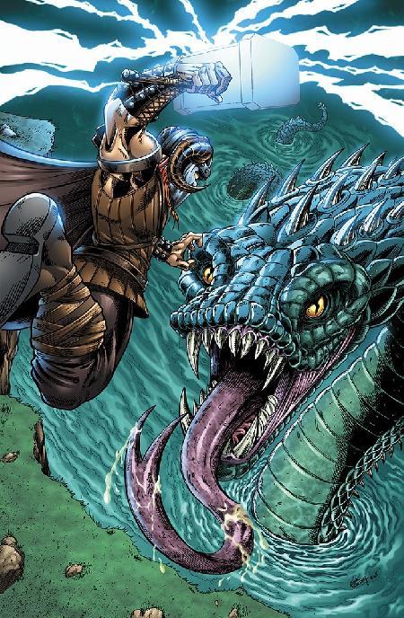 Con rắn khổng lồ Jormungandr