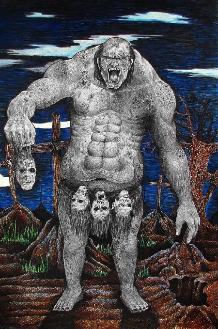 Con quỷ chuyên trộm mộ Busaw