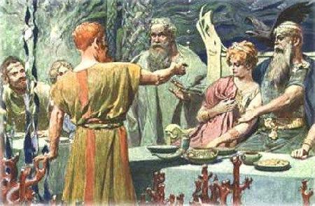 Trận khẩu chiến giữa Loki và chư thần Aesir