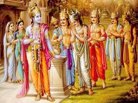 Năm hoàng tử Pandava - sử thi Mahabharata