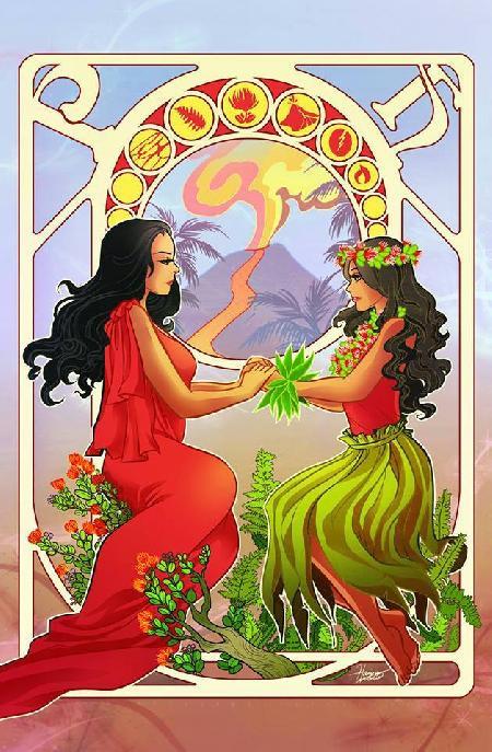 Hi'iaka và sự ra đời vũ điệu Hula