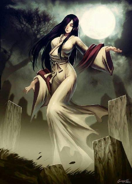 Nữ thần Izanami no Mikoto - nữ thần của sự chết chóc