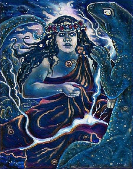 Rohe - nữ thần Linh hồn