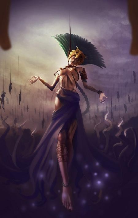 Nữ thần quyên sinh Ixtab