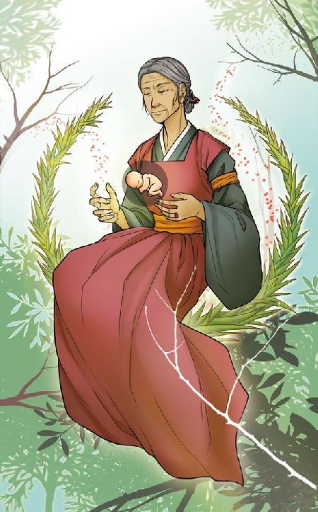 Nữ thần Sinh nở Samsin