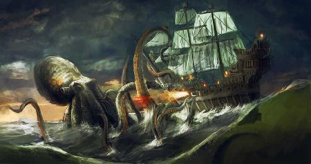 Quái vật biển khổng lồ Kraken