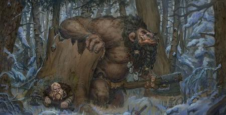 Loài quỷ khổng lồ Troll