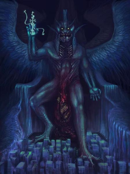 Quỷ vương hùng mạnh Pazuzu