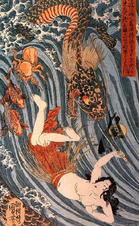 Rồng trong thần thoại Nhật Bản
