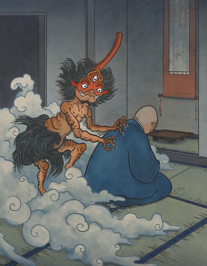 Sự tích về Yokai - Những sinh vật ma quái của thần đạo Nhật Bản
